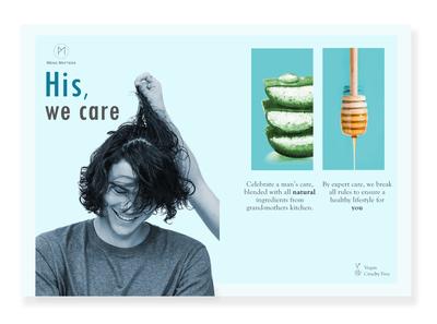 Wellness advert - Concept