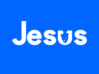 Jesus 👉 Fish 🐟 Typography