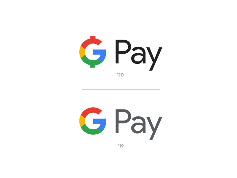 G Pay Logo Update New 2020 Google Rebrand Concept coin shopify woocommerce stripe apple pay payments payment cash dollar sign dollars dollar money concept rebrand logo google pay g pay gpay pay google