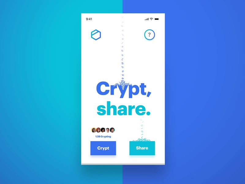 2020 Mobile Web App Hero Design Trends Template avatars group profile security app security secure binary encryption encrypted crypto exchange crypto currency cryptocurrency crypto wallet crypto encrypt crypt pwa 2020