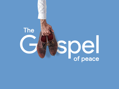 Put on the 👞👞 shoes of the gospel of Peace ✌🕊☮ shoe shop shoe store love message bible new testament peace peace sign peaceful gospel armor of god armor shirt typography holding holdings arm loafers shoe shoes