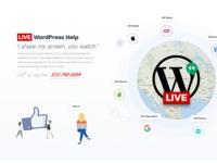 Live WordPress Help ATF