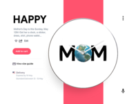 Buy your MOM a 🎁 gift on ⌚ time 🤦♂️ this year Dribbble!