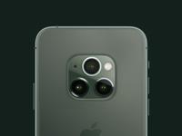 iPhone 11 Pro Centered Cameras Mockup