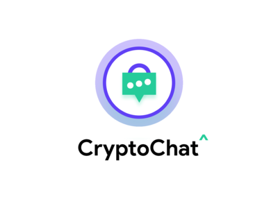 CryptoChat Logo, Free 😎 encrypted ✍ email & text messaging app.