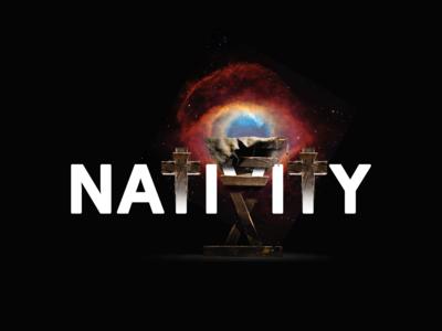 ✍ Word Art 👉 Nativity Scene