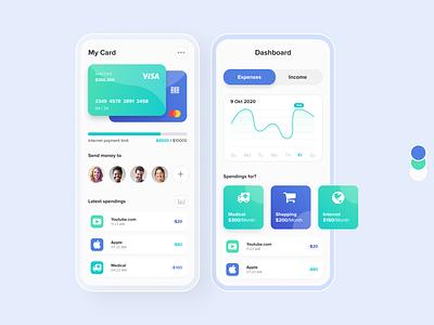 Wallet Monitoring - Interface mobile design mobile app app ux designleague design uiux ui