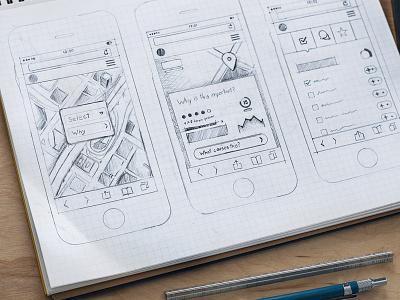 Ui Sketch ui mobile app sketch wireframes brainstorming ios7 app sketch iphone ui sketch map sketch mobile wireframes ios7 wireframe