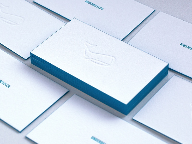 Simple business cards by anthony lagoon dribbble colourmoves