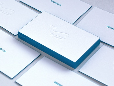 Simple Business Cards texture card letterpress blind business cards collateral stationary print illustration business cards