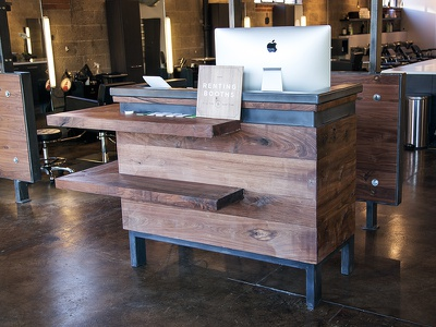 Environmental Design environmental design salon hair reception desk