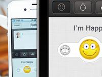 Emoticon Slider concept