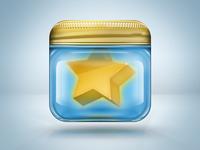 Star in a jar