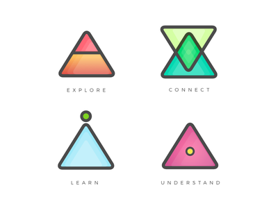 Glyphs Icons Set 2 icon design sketch flat vector illustration vector color icons glyph