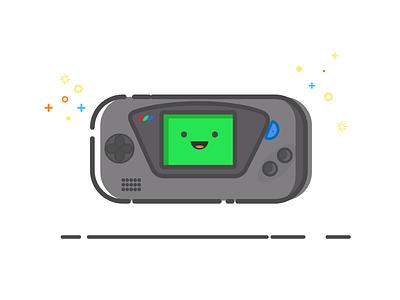 Game Gear vector illustration vector fun sega colors game gear mbe