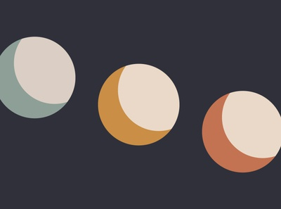 Moon Triptych