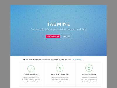 Tabmine - Landing Page