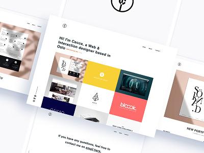 New portfolio page portfolio design portfolio page portfolio site portfolio webdesign