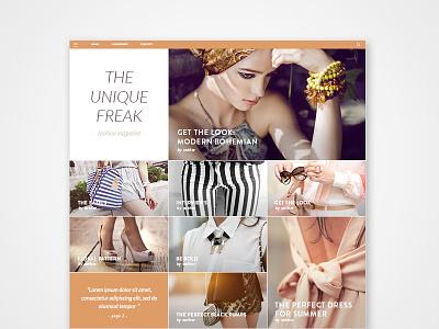 Gridbased Responsive design reponsive magazine webdesign grid