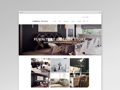 Furniture Store furniture webdesign website store ecommerce