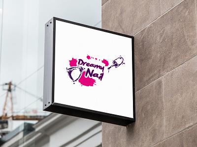 Nail Shop Logo Design holiday logo business flyer design party flyer nail nails curt nail art nail salon nail polish nail logo logodesign design brand love poster logodesign holiday card logo beautiful design beautiful girl beautiful logo beautiful