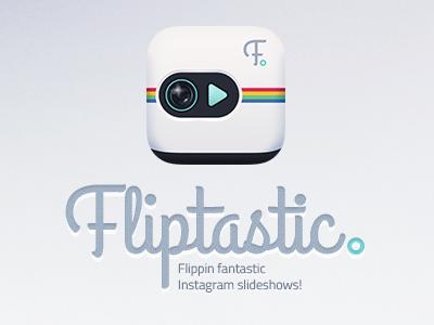 Fliptastic - Slideshow maker for Instagram app icon