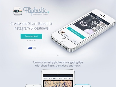 Fliptastic Website app website fliptastic photo