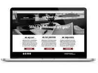 Gentleman's Brew Website