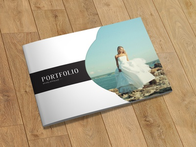 Wedding Photographer Portfolio Brochure/Catalog