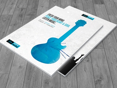 Music Festival Brochure+Ticket