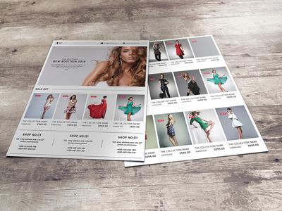 Fashion Promotional Flyer