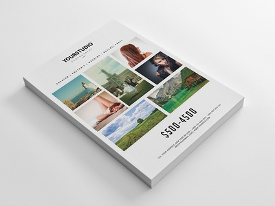 Minimal Photography Flyer