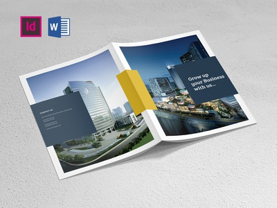 Company Brochure Indesign & Word Template