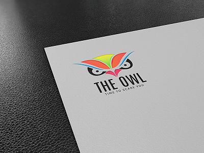 Owl Face Logo illustration owl illustration owl face owl logo logo