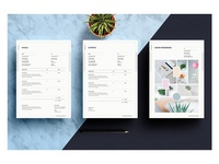 Mood Board | Invoice | Estimate Templates