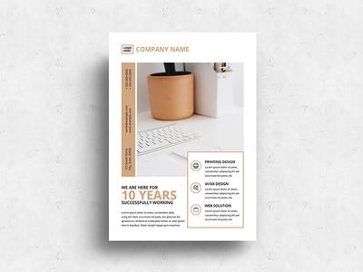Minimalist Business Flyer-v01