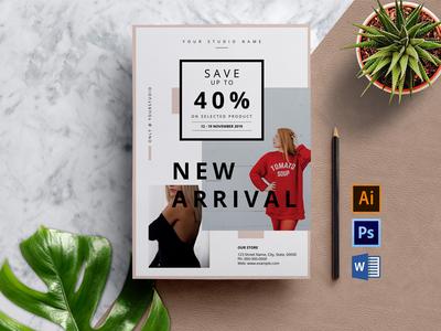 Multipurpose Sale Flyer Template