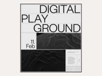 2020 Digital Playground #8 / Landing page