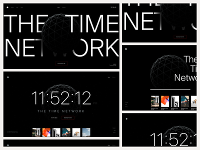 Stopwatch - Web Explorations homepage time social media typography typeface web design product design website minimal responsive marketing landing ux ui