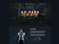 Beastly- Gym & Fitness Wear Web Design