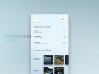 Extreme Sports Application - Notification Center