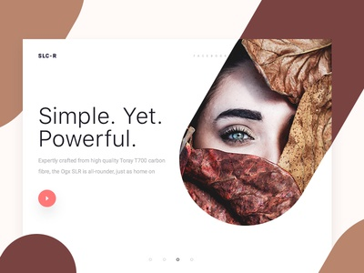 SLC-R Homepage Design