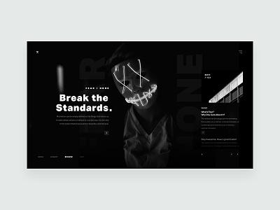 ZX Lifestyle - Blog Header Concept minimal product website marketing responsive ux ui pallete landing web design header clean