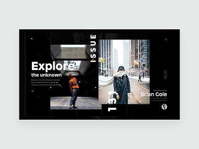 ZX Lifestyle - Blog Header Concept clean header web design landing pallete ui ux responsive marketing website product minimal