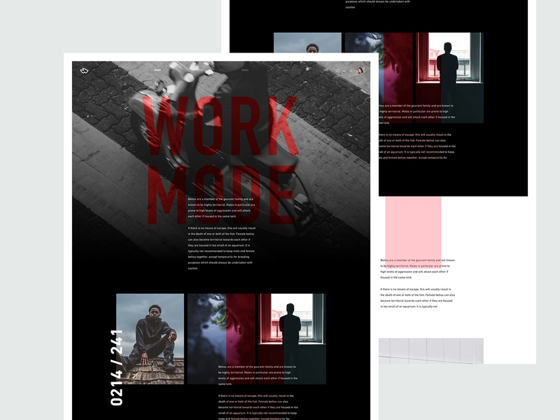ZX Explorations - Landing Page UI Concept interaction dark page typography fresh simple header web design design product marketing website interface app landing minimal responsive clean ux ui