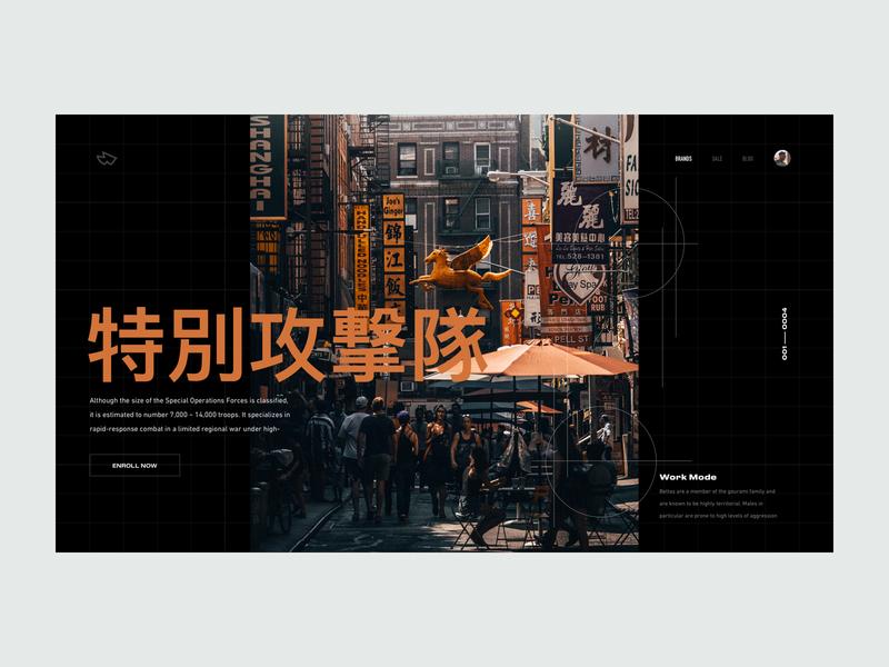 ZX Explorations - Header UI Concept data profile page pallete product fresh simple web design interface header website marketing design typography landing minimal responsive clean ux ui