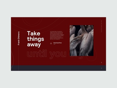 Design Quotes - Homepage Concept