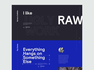 Design Quotes - Homepage Concept v3