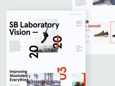ZX Explorations - eCommerce shop UI Concept