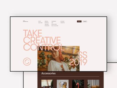 Take Creative Control
